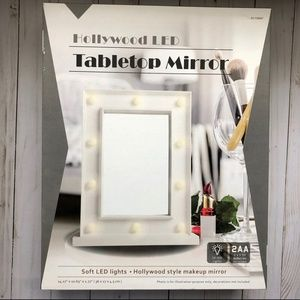 Hollywood LED Tabletop Mirror